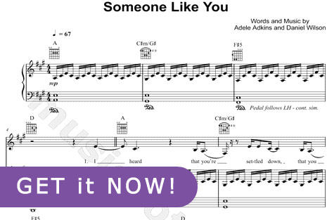 play song someone like you